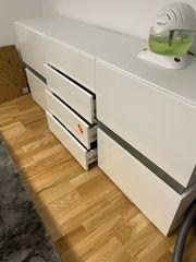 Neu Sideboard in Weiß Hochglanz