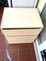 Kommode - Nachtkästchen 3 Schubladen