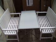 Hochwertiges Gartenmöbel-Set 3 tlg