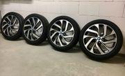 4 neue BMW i3 Kompletträder