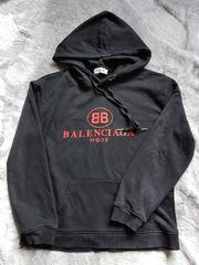 Sweatshirt schwarz Balenciaga Gr M