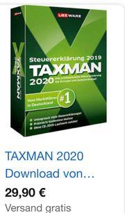 Taxman 2020 für 2019 NEU