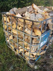 Brennholz Kaminholz Ofenfertig Hartholz