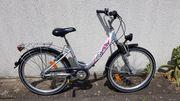 Jugend-Fahrrad Cyco 24 Zoll weiß