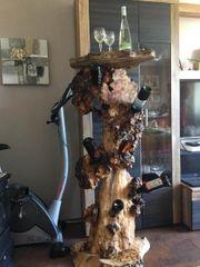 Holz Wein Halter