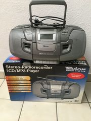 Stereo-Radiorecorder mit CD MP3-Player