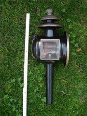 Superschöne alte Kutschlampe - Kutschenlaterne zur