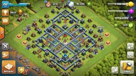 Fast Max Rathaus 13 - Clash of Clans Account - COC