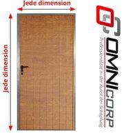 Stahltür - Metalltür - Tür nach Maß -