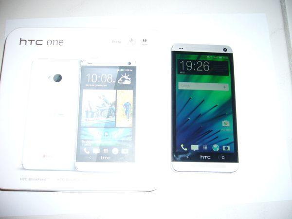 HTC One M7 32GB Silber