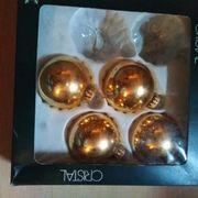 goldfarbige Weihnachtskugeln zu verkaufen