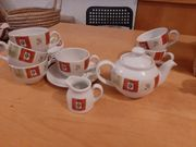 Nettes Vintage Englisches Teeparty-Set