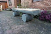 Gartenbank aus Beton Betonbank Krongartmöbel
