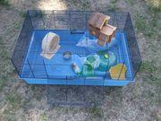 Hamster-Käfig Meerschweinchen-Käfig Mäuse-Käfig Hasen-Käfig mit