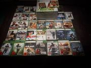 Xbox 360 mit 32 Spielen