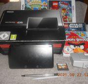 Nintendo 3DS Konsole Schwarz metallic-OVP