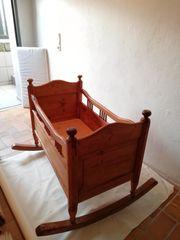 Babywiege Ende 18 Jahrhundert mit