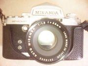 verkaufe Spiegelreflex Kamera Miranda analog