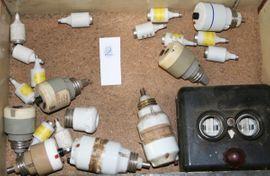 Alles Mögliche - Stecker Steckdosen Schalter Sicherungen alt