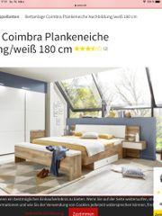 Doppelbett Plankeneiche