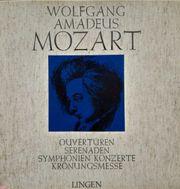 Mozart Schallplatten Ouvertüren - Serenaden - Symphonien -