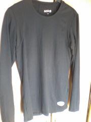 Shirt - Damen - langarm - schwarz - TCM -