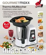 NEU GOURMETmaxx Thermo-Multikocher 8in1 1100W