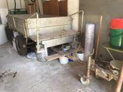 Alter Traktoranhänger