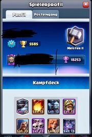 Top Clash Royal Account 1
