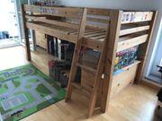 Echtholz Hochbett für Kinder