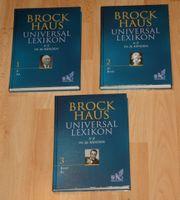 ORIGINAL - 3 Brockhaus-Bände - Bereich A bis