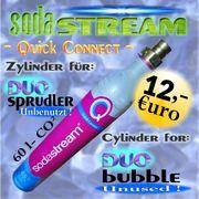 SODA STREAM ZYLINDER für DUO