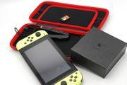 Nintendo Switch mit Zubehör GuliKit