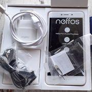 Neffos X1 Smartphone gold mit