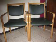 2 hochwertige Stühle