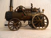 Große fahrbare Lokomobile Dampfmaschine Steam