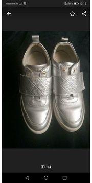 Schuhe flach Guess Silber 38