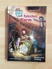 UNGELESEN Detektivbuch Falscher Alarm