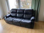 3-sitzer Sofa Couch mit Kinofunktion