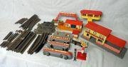 Blechspielzeug Modelleisenbahn
