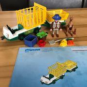 Playmobil 3242 - Tierpfleger-Transporter gebraucht