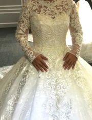 Brautkleid traum in Weiß neu