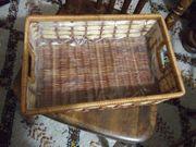 Korb Rattan mit Folie ausgekleidet