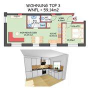 2 komplett sanierte Wohnungen zu