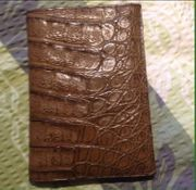 Brieftasche unisex Versand möglich