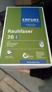 Raufasertapete Erfurt 6 Rollen in
