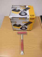 Tapeten-Ablösegerät PowerPlus X340 und Nadelwalze