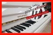 Hyundai Klavier weiß Hochglanz -gestimmt-reguliert