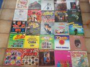 Schallplatten Vinyl Konvolut ca 105
