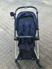 cybex Kinderwagen mit Winter-Fußsack